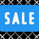 Sale Button Label Icon