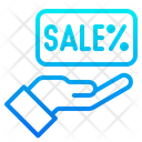 Sale Hand Discount Icon