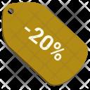 Sale Pro Percent Icon