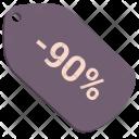 Sale Percent Discount Icon