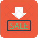 Sale Notice Advertisement Icon