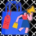 Sale Promotion Marketing Icon