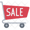 Sale Trolly Shopping Sales Icon