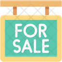 Sale Information Signboard Icon