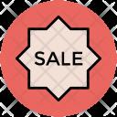 Sale Sticker Shopping Icon