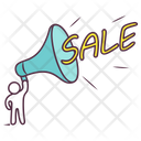 Sale Announcement Sale Promotion Discount Promotion Icon