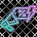 Promotion Flash Sale Icon