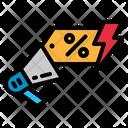 Sale Announcement Icon