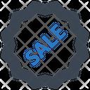 Sale Badge Shopping Icon