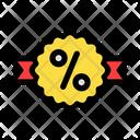 Badge Sales Discount Icon