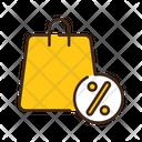 Sale Bag Discount Bag Discount Icon