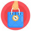 Shopping Bag Sale Bag Buying Icon