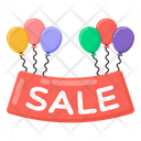 Sale Sign Sale Balloons Sale Balloon Label Icon