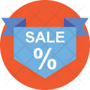 Sale Banner Poster Icon