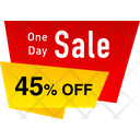 Sale Banner Icon