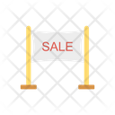 Sale Banner Signboard Icon