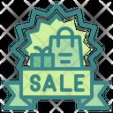 Sale Banner Sale Banner Icon
