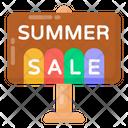 Sale Signboard Sale Board Sale Billboard Icon