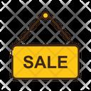 Sale Board Sale Hanger Board Signboard Icon