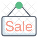Sale Tag Sale Board Sale Billboard Icon