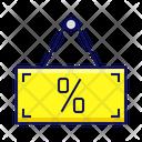 Sale Shop Sign Icon