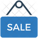 Business Financial Hanging Board Icon