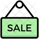 Sale Board Sale Hanging Board Icon