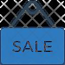 Sale Board Sale Hanging Board Icon