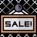 Sale Store Tag Icon
