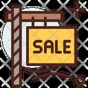 Sale Board Sale Bill Board Icon