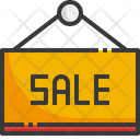 Sign Sale Shopping Icon