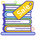 Sale Book Retail Book Booklet Icon