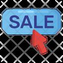 Sale Click Sale Button Online Sale Icon