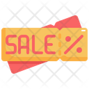 Coupon Black Friday Sale Icon