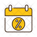 Sale Date Offer Date Discount Date Icon