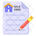 Sale Deed Icon