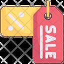 Online Shopping Sale Discount Labels Voucher Icon
