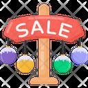Sale Signboard Sale Board Sale Roadboard Icon