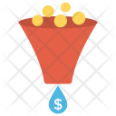 Sale Funnel Dollar Icon