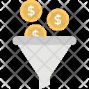 Sale Funnel Dollar Icon