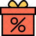 Sale Gift Store Icon