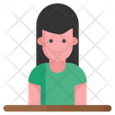 Sale Girl Icon
