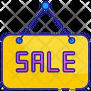 Sale hanger board Icon
