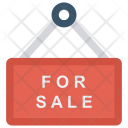 Sale hanging Board Icon