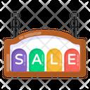 Hanging Board Sale Board Sale Hanging Board Icon