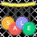 Sale Mark Sale Labels Sale Emblems Icon