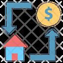 Sale Home Icon
