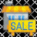 Sale House Icon
