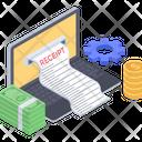 Sale Invoice Financial Document Bill Icon
