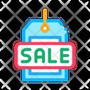Label Sale Color Icon